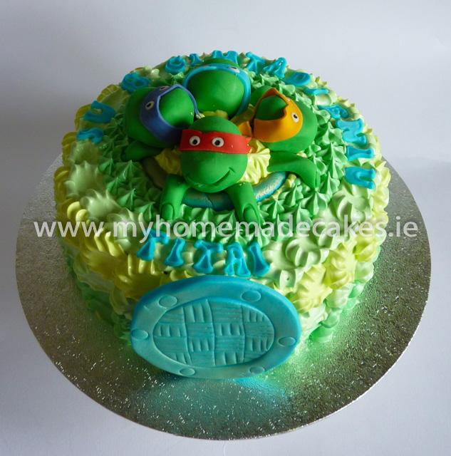 Turtles NInjas cake