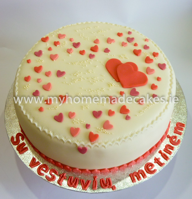 Wedding anniversary cake | My homemade cakes