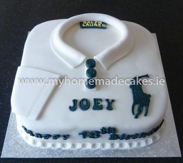 Polo shirts cake