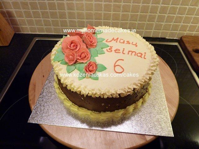 fresh cake