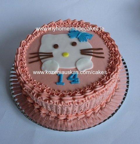 Hello Kitty Cake My Homemade Cakes