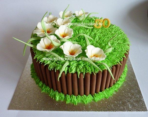 ideas para decorar tortas con flores