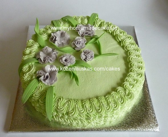 Wild flowers cake