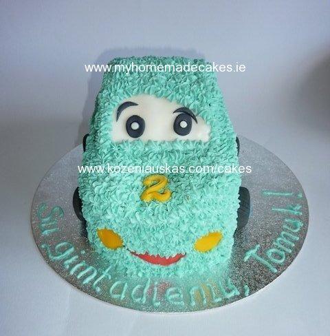 Tomas car cake
