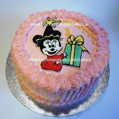 Girl S Birthday Cake My Homemade Cakes