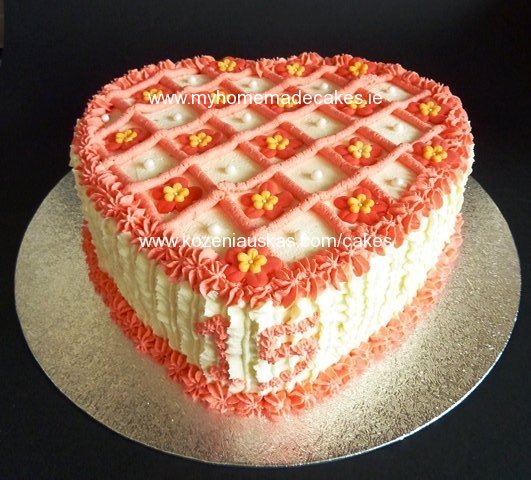 Heart cake | My homemade cakes