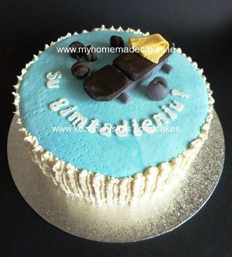 Sportsman's cake