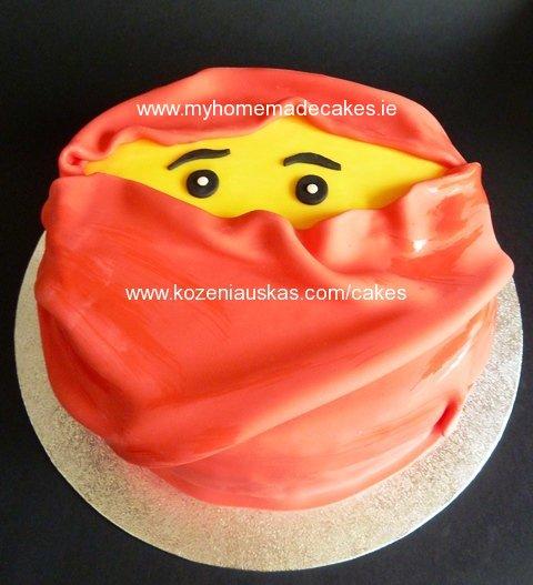 Kai ninjago cake | My homemade cakes