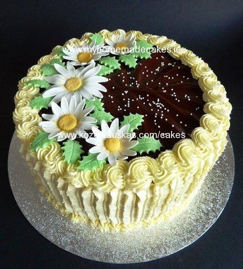 daisies cake My homemade cakes