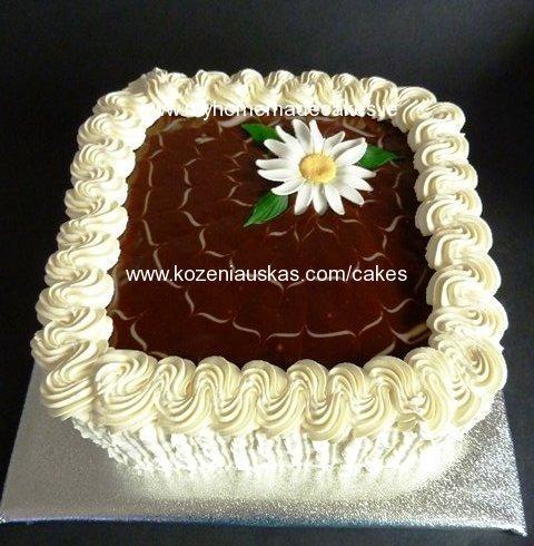 Homemade Cake Decoration Without Cream : Honey cake My homemade cakes