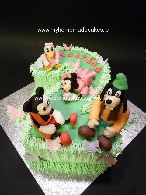 Mickey Mouse My Homemade Cakes