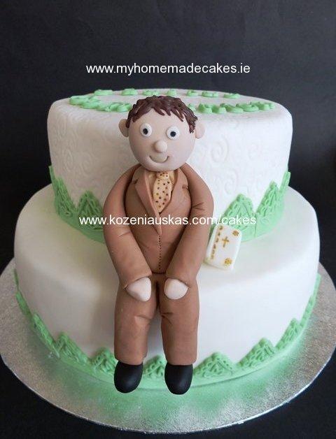 Paulius Communion cake