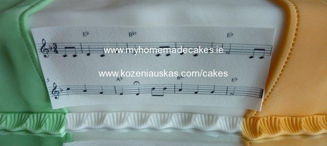 Irish flag cake