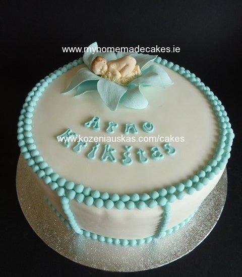 Christening Cake My Homemade Cakes