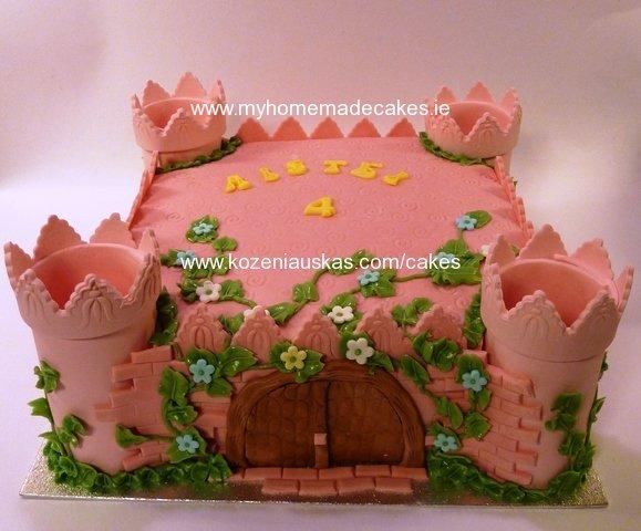 Girls Birthday My Homemade Cakes