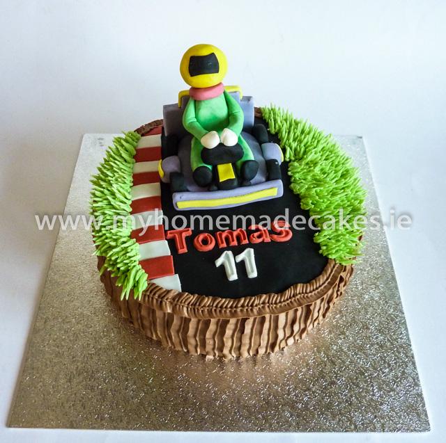 Go Kart cake
