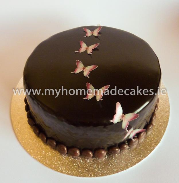 Chocolate Glaze Cake Decoration : Chocolate glaze cake My homemade cakes