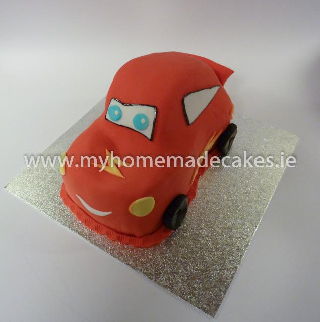 Mcqueen cake