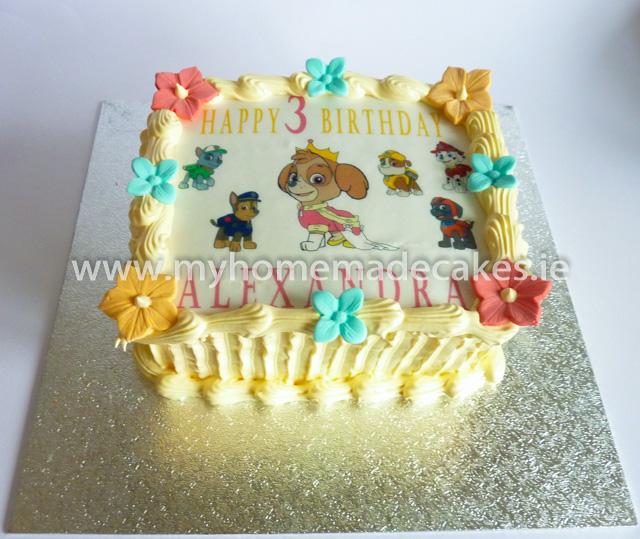 Puppies cake