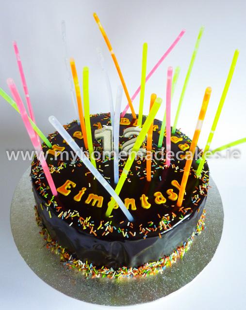 Lasers cake