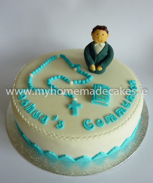 Joshua's Communion cake