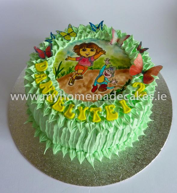 Dora cake My homemade cakes