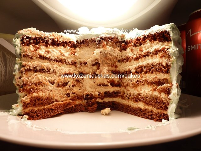 Different honey cake