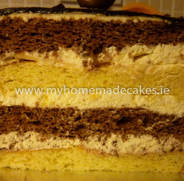 Advocaat cake