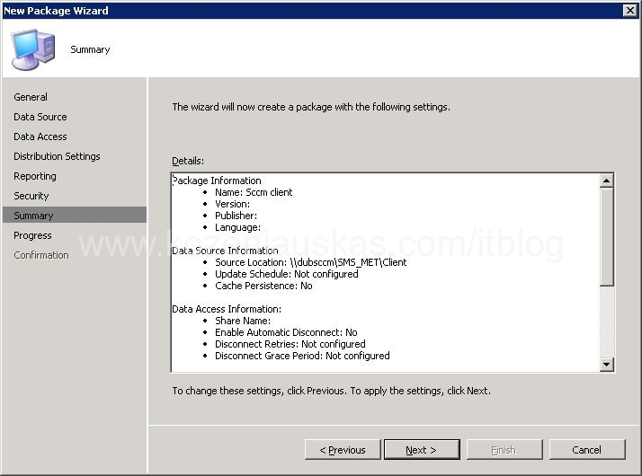SCCM: How to create SCCM client Package and Program for OSD | IT Blog