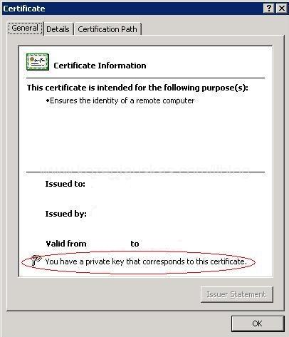 SSL Certificate add failed, Error: 1312 | IT Blog