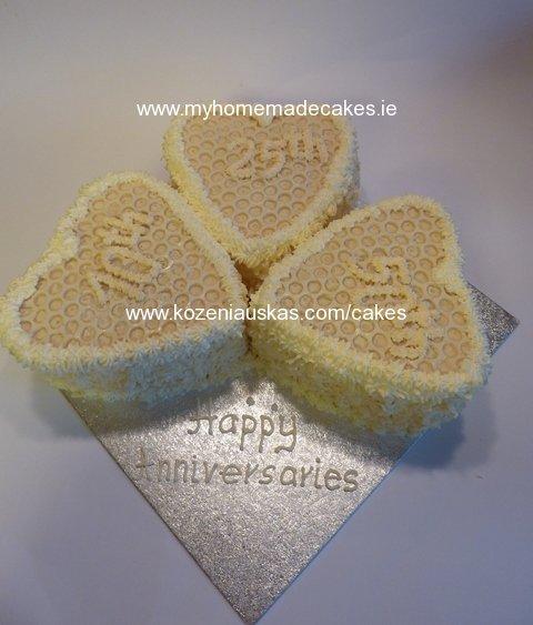 Anniversaries hearts