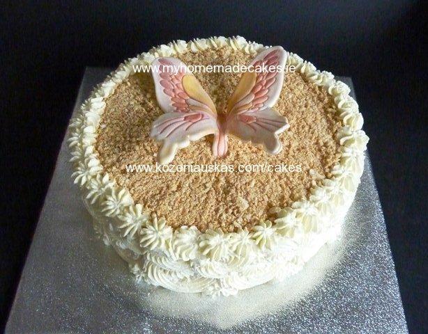 Buterfly ''Napaleon cake''