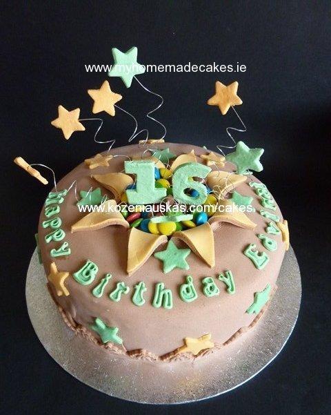Big 16 cake