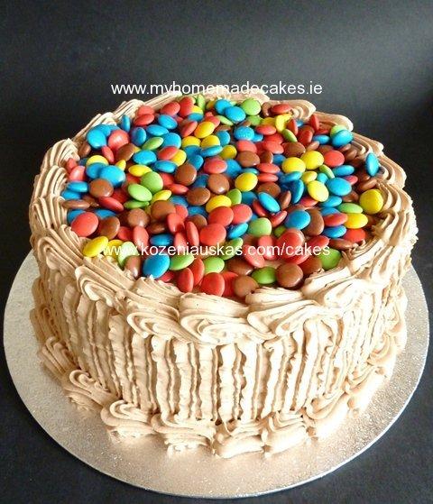 Raffaello cake of colours
