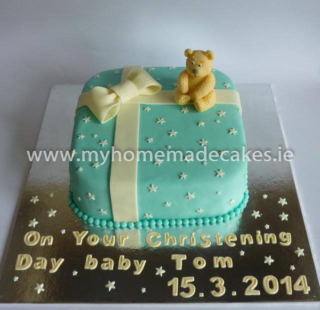 Tom's Christening Cake