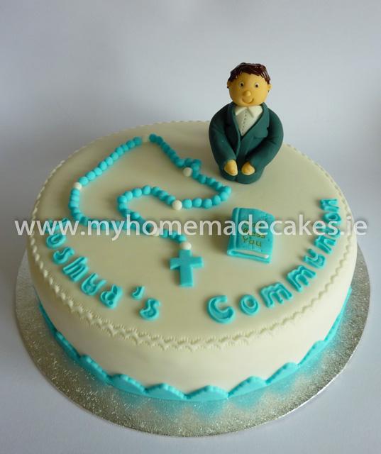 Joshua's Communion cake