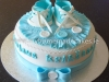 Majus Christening cake
