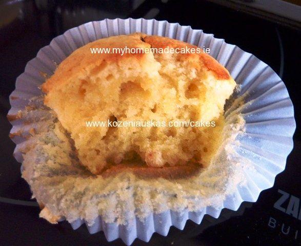 curd cupcake