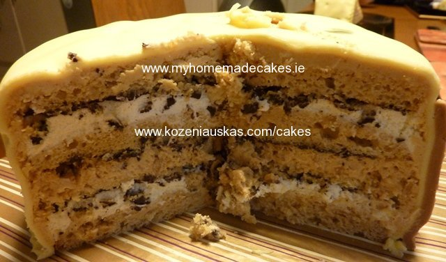 Snikers cake