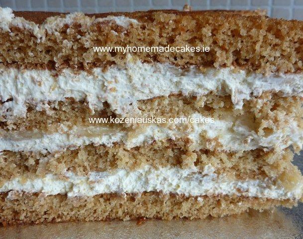 Honey sponge